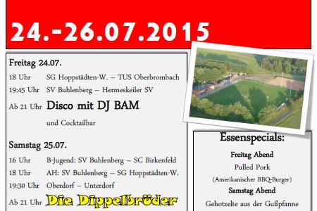 Sportfest 2015 des SV Buhlenberg!